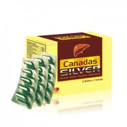 Tpbvsk bổ gan Canadas Silver, Hộp 60 viên