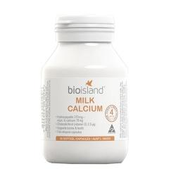 Sữa Bioisland Milk Calcium bổ sung canxi cho trẻ nhỏ