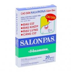 Cao dán Salonpas, Hộp 20 miếng