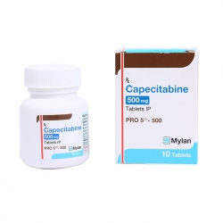 Thuốc Mylan Pro 5 Capecitabine 500mg ,Hộp 10 viên