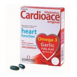 Tpbvsk bổ tim mạch Vitabiotics Cardioace Original, Hộp 30 viên