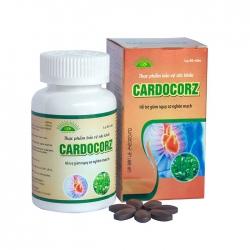 Tpbvsk giúp tăng cường lưu thông khí huyết Cardocorz, Chai 60 viên