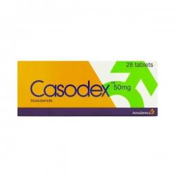Thuốc trị ung thư tiền liệt tuyến Casodex Bicalutamida 50mg