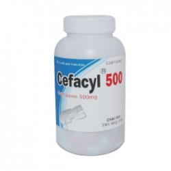 VPC Cefacyl 500, Chai 200 viên