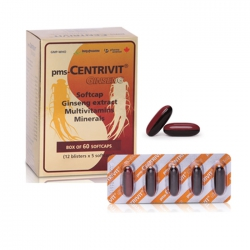 Thực phẩm bảo vệ sức khỏe Imexpharm Centrivit, Hộp 60 viên