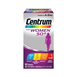 Centrum For Women 50+, Hộp 60 viên