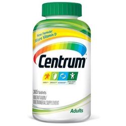 Centrum multivitamin | Chai 365 viên