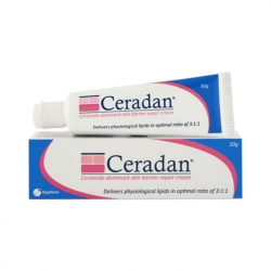 Ceradan cream giúp bảo vệ hàng rào da và giữ ẩm da