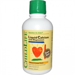 Tpbvsk cho bé Childlife Liquid Calcium with Magnesium, Chai 474ml