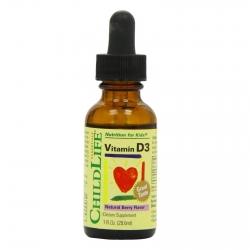 ChildLife Vitamin D3 dạng nước phòng ngừa còi xương ở trẻ em
