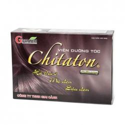 Tpbvsk Gpharm dưỡng tóc Chitaton, Hộp 60 viên
