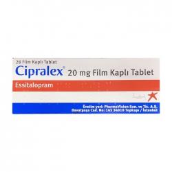 Cipralex 20mg Lundbeck 2 vỉ x 14 viên