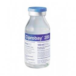 Ciprobay 200mg/100ml, Chai 100ml