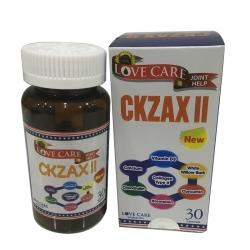 Ckzax II hỗ trợ giảm đau và tái tạo chất nhờn trong xương, sụn khớp