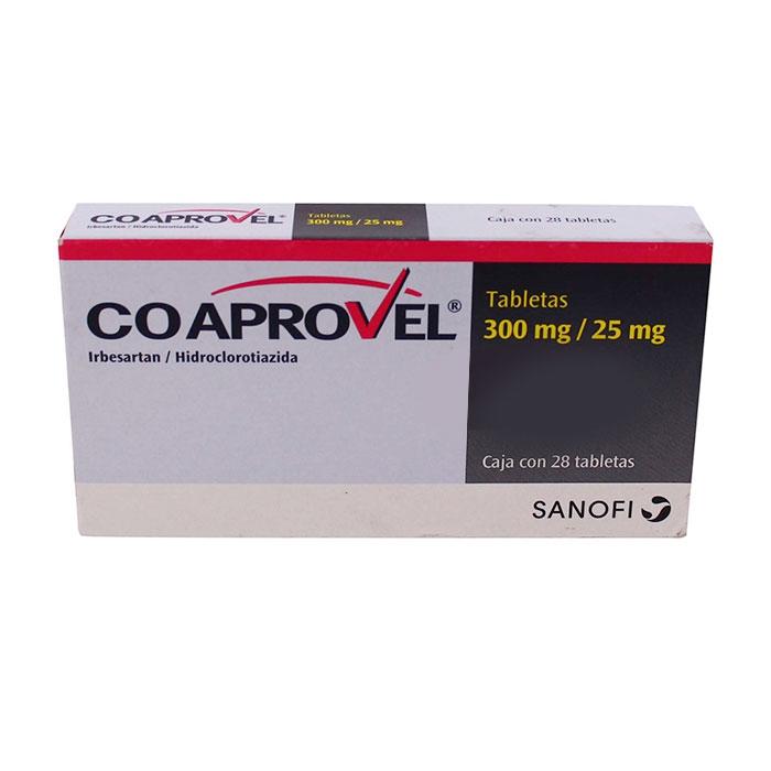 Thuốc tim mạch CoAprovel 300/25mg, Hộp 14 viên