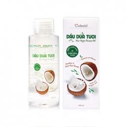 Dầu dừa tươi đa năng Coboté Raw Virgin Coconut Oil, Chai 100ml
