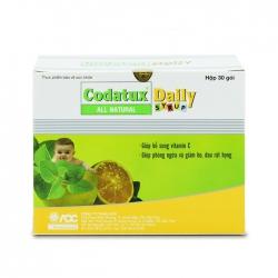 Thuốc ho Codatux Daily Syrup, Hộp 30 gói x 5ml
