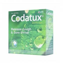 Codatux Softcap Giảm Ho và Đau Họng, Hộp 110 viên