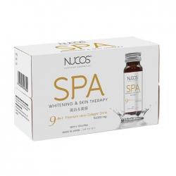 Collagen giảm lão hóa Nucos Spa 10,000mg Whitening & Skin Therapy 50ml x 10 Chai
