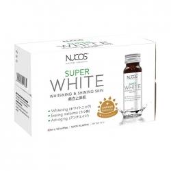 Collagen làm trắng da giảm nám Nucos Super White 50ml x 10