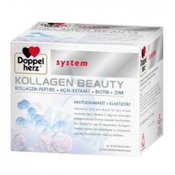 Collagen Thủy Phân Doppelherz Kollagen Beauty, Hộp 30 gói x 25ml