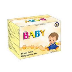 Cốm Baby Kingphar giúp phòng ngừa táo bón, Hộp 15 gói