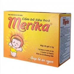 Tpbvsk cốm men tiêu hóa Merika, Hộp 20 gói