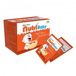 Cốm Vi Sinh Nutribaby, Hộp 20 gói x 3g