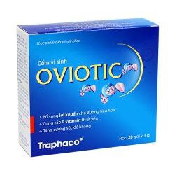 Cốm vi sinh Traphaco Oviotic, Hộp 20 gói