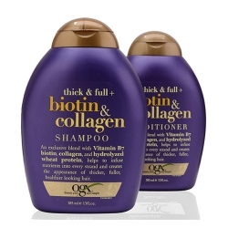 Combo dầu gội xả Ogx Biotin & Collagen