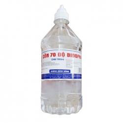 Cồn 70 độ Bidopha Nam Hà, 1000ml