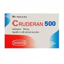 Cruderan 500mg Hasan 3 vỉ x 10 viên