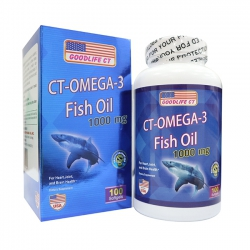 CT - OMEGA - 3 FISH OIL 1000mg, 100 viên