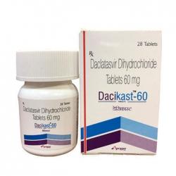Thuốc Dacikast 60, Hộp 28 viên