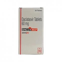Thuốc Hetero Daclahep 60mg, Hộp 28 viên