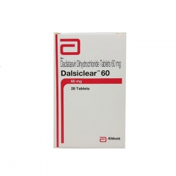 Thuốc Abbott Dalsiclear 60mg, Hộp 28 viên