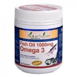 Dầu cá Nature's Care Fish Oil Omega 3 1000mg