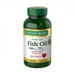 Dầu cá Nature's Bounty Fish Oil 1400mg bổ sung Omega 3