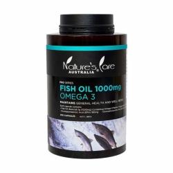 Dầu cá Natures Care Omega 3 Fish Oil 1000mg 200 viên