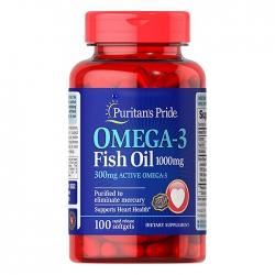 Dầu Cá Puritan's Pride Omega 3 Fish Oil 1000mg 100 Viên
