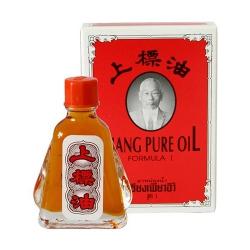 Dầu gió đỏ hiệu ông già Siang Pure Oil Thái Lan, Chai 7ml
