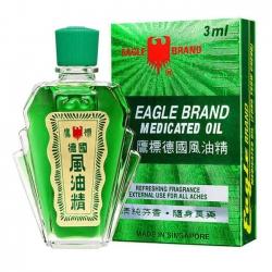 Dầu Gió Xanh Eagle Brand Singapore 3ml