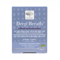 New Nordic Deep Breath, Hộp 30 viên