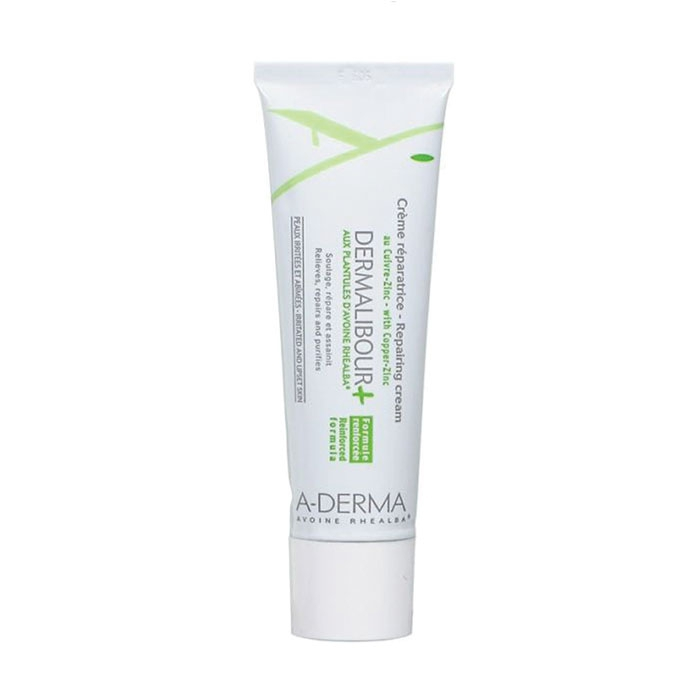 Kem phục hồi dịu và kháng khuẩn Dermalibour + Repairing Cream A-Derma 50ml