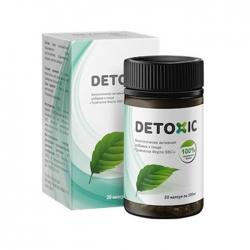 Detoxic  - Nắp đen - hỗ trợ điều trị giun sán cải thiện tiêu hóa