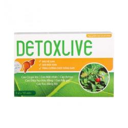 Detoxlive tuệ linh giúp bảo vệ gan, Hộp 30 viên