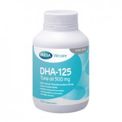 DHA 125 Mega - Viên uống dầu cá 30 viên