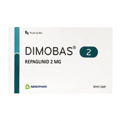 Dimobas 2 Agimexpharm 4 vỉ x 15 viên