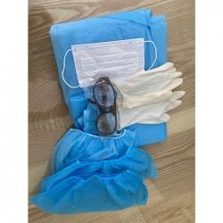 Đồ bảo hộ y tế phòng dịch (Quần áo, khẩu trang, kính, bao tay) - Covid 19