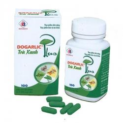 DMC Dogarlic trà xanh plus 380mg/175mg/1000mg/20mg